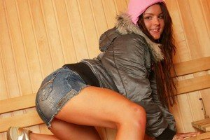 Horny Teen Suzy Shows Off Her Pussy